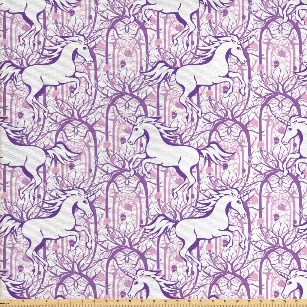 galloping purple unicorns