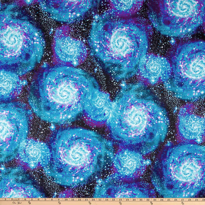 space fabric milky way pattern