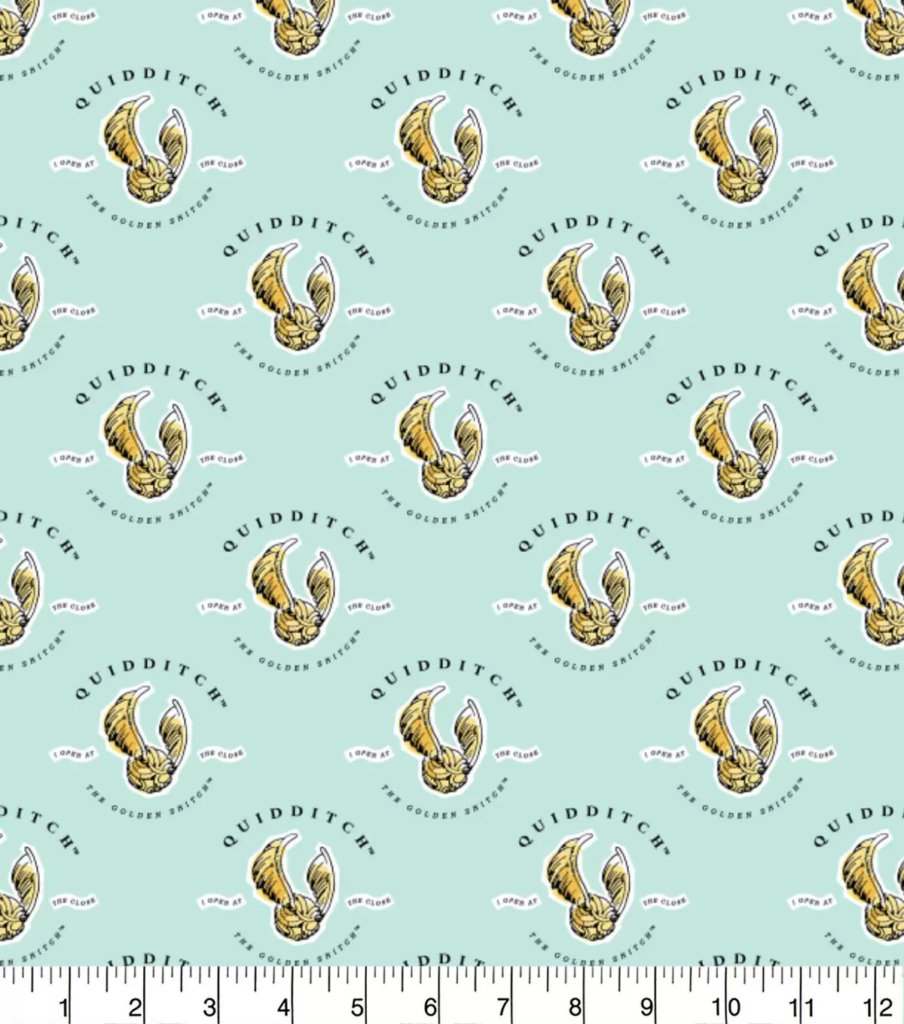 quidditch fabric by the yard