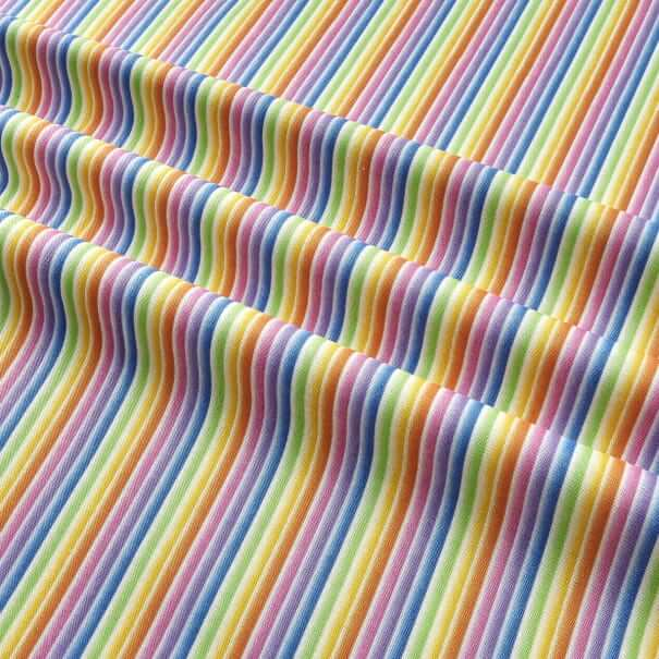gradient rainbow stripes